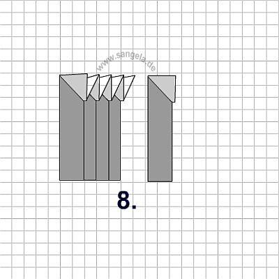 Интересные поделки из бумаги - кубик, лодка, самолёт, коробочка, цепочка, кошелёк, тюльпан и.