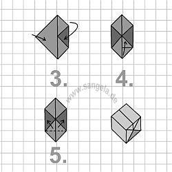 картинки оригами кубик