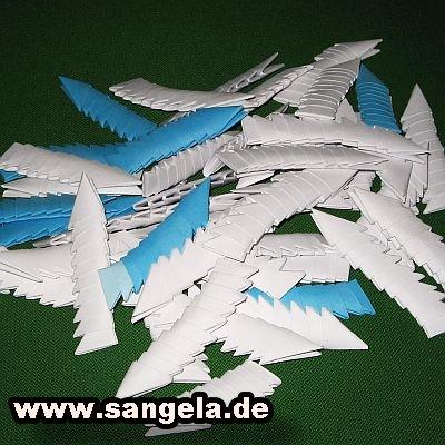 Оригами лебедь схема - Оригами из бумаги Как сделать оригами лебедь Оригами лебедь из треугольных модулей .