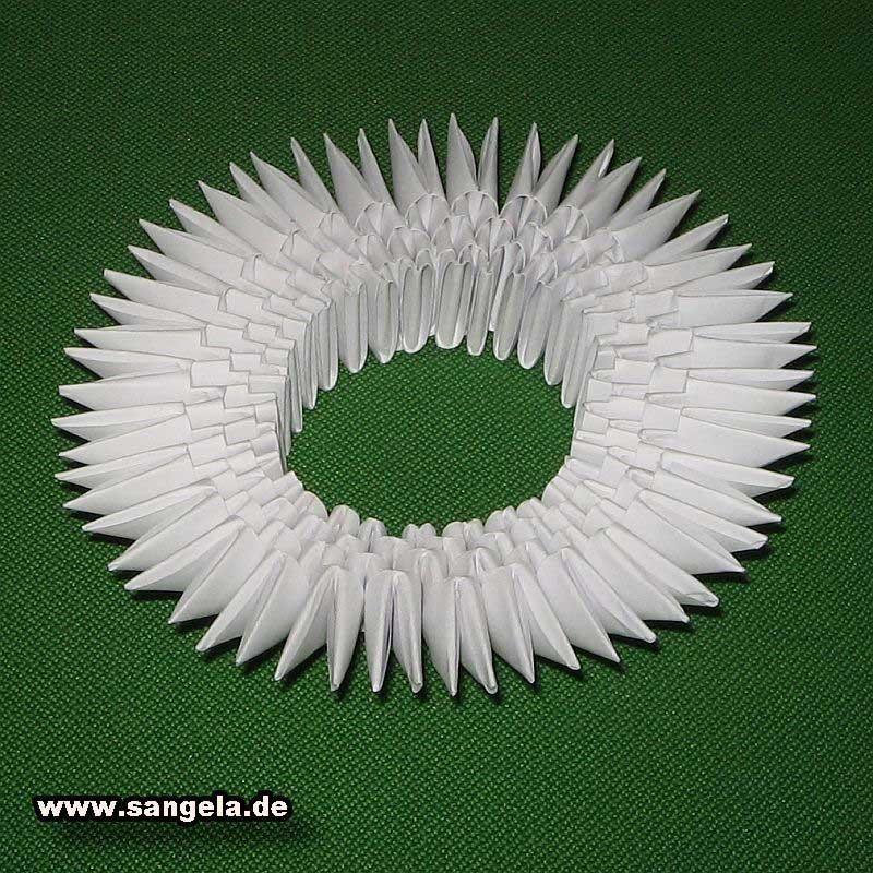 Модульное оригами схема сборки двойного лебедя.  Заметки ... как делать оригами для .