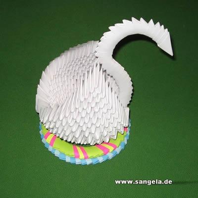 Из бумаги - Лебедь