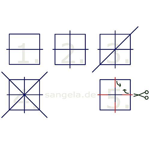 квадрата до подготовленных