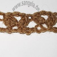 Вязание крючком - Пышный столбик